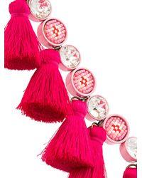 Shourouk - Multicolor 'sautoir' Tassel Necklace - Lyst