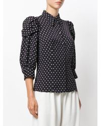 Antonio Marras - Blue Polka Dot Print Shirt - Lyst