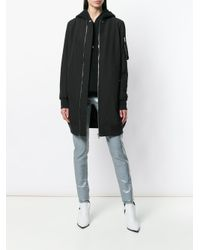 Rick Owens Drkshdw - Black Elongated Fitted Jacket - Lyst