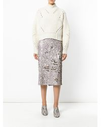Dorothee Schumacher - Multicolor Multi-coloured Sequinned Skirt - Lyst