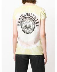 Zadig & Voltaire - Multicolor Tie-dye T-shirt - Lyst