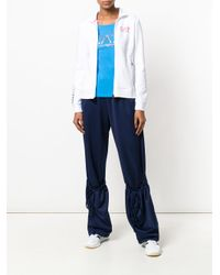 EA7 - White Logo Track Top - Lyst