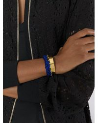 Aurelie Bidermann - Blue 'copacabana' Bracelet - Lyst