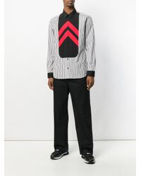 Givenchy - White Colour-block Shirt for Men - Lyst
