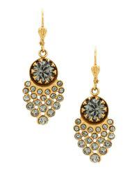 Serpui - Metallic Leaf Earrings - Lyst