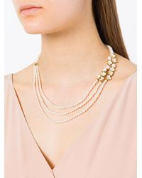 Shaun Leane - Multicolor Cherry Blossom Pearl And Diamond Necklace - Lyst
