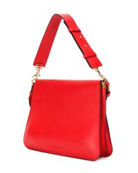 J.W. Anderson - Red Medium Pierce Shoulder Bag - Lyst