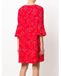 Essentiel Antwerp - Red Printed Dress - Lyst