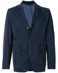 Woolrich - Blue Military Blazer for Men - Lyst