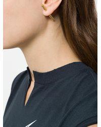 Maria Black - Metallic Arsiia Spear Earring - Lyst