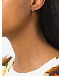 Astley Clarke - Metallic Beaded Stilla Stud Earrings - Lyst