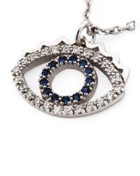 KENZO - Metallic 'eye' Bracelet - Lyst