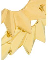Maria Black - Metallic 'wing' Reverse Earrings - Lyst
