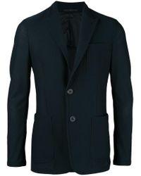 Giorgio Armani | Blue Two Button Blazer for Men | Lyst