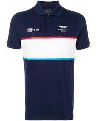 Hackett - Blue Aston Martin Racing Polo Shirt for Men - Lyst