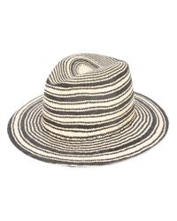 Rag & Bone - Multicolor Striped Panama Hat for Men - Lyst