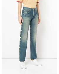 Tu Es Mon Tresor - Blue Side Pearl Jeans - Lyst
