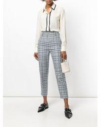 Mantu - Multicolor Longsleeved Stripe Detail Shirt - Lyst