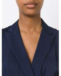 Wouters & Hendrix - Metallic Layered Diamond Necklace - Lyst