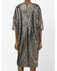 A.F.Vandevorst - Metallic Sequin T-shirt Dress - Lyst