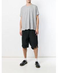 Comme des Garçons - Gray Oversized T-shirt for Men - Lyst