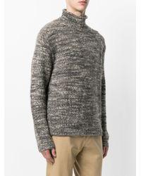 Polo Ralph Lauren | Brown Textured Turtleneck Jumper for Men | Lyst