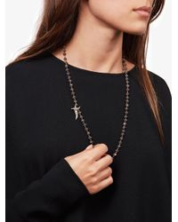Sevan Biçakci - Brown Bead And Dagger Necklace - Lyst
