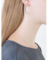 Carolina Bucci - Metallic Sparkly Hoop Earring - Lyst