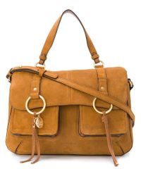 See By Chloé - Brown Filipa Satchel - Lyst
