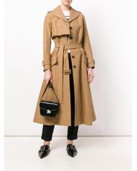 Carven - Natural Flared Trench Coat - Lyst