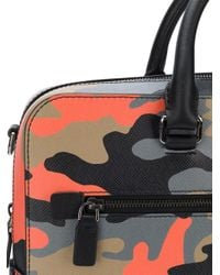 Michael Kors - Multicolor Harrison Camouflage-print Briefcase for Men - Lyst