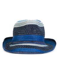 Etro - Blue - Contrast-tone Hat - Men - Viscose - S for Men - Lyst