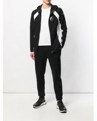 Philipp Plein - Black Zipped Hoodie for Men - Lyst