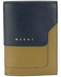 Marni - Blue Trunk Snap Fastening Wallet - Lyst