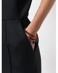 Bottega Veneta - Brown Intrecciato Bracelet - Lyst