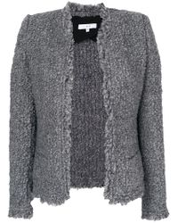 IRO | Gray Coffey Jacket | Lyst