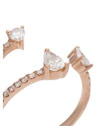 Anita Ko - Metallic Three-claw Ring - Lyst