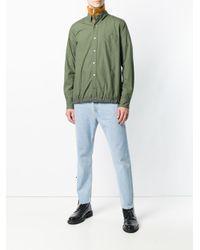 Sacai - Green Drawstring Hem Shirt for Men - Lyst
