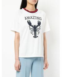 P.A.R.O.S.H. - White Amazing T-shirt - Lyst