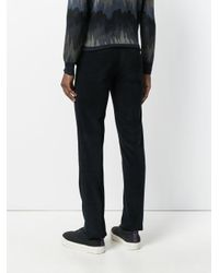 Brioni - Blue Classic Tailored Trousers for Men - Lyst