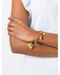 Dolce & Gabbana - Metallic Charm Bangle - Lyst
