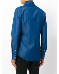 Fashion Clinic Timeless - Blue Denim Shirt for Men - Lyst