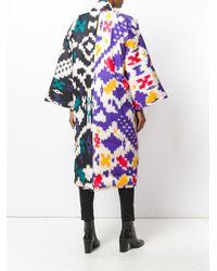 Sofie D'Hoore - Multicolor Ikat Pattern Coat - Lyst