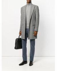 Jacob Cohen - Blue Textured Denim Jeans for Men - Lyst