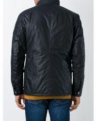 Barbour - Blue 'akenside' Regular Fit Quilted Jacket for Men - Lyst