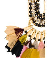 Gas Bijoux - Metallic Trevise Feather Earrings - Lyst