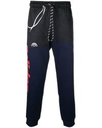 0b5ed9ab4db Alexander Wang Relaxed Fit Track Trousers in Black - Lyst