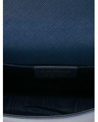 Ferragamo - Blue 'vara' Crossbody Bag - Lyst