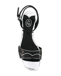Ash - Black Odelia Brazil Sandals - Lyst