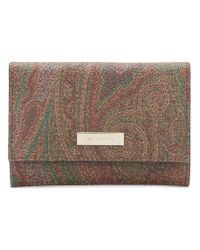 Etro - Multicolor Small Patterned Purse - Lyst